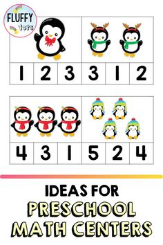 Penguins are a perfect addition to preschool activities in the winter! In this blog, I talk about some of the different preschool activities and resources that are penguin themed and great for practicing preschool motor skills, preschool math, preschool science and preschool writing. I also include suggestions for books about penguins that are great to pair with these activities. Great to use in the preschool classroom or for preschool homeschool activities.
