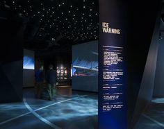 Titanic Belfast exhibit areas. Lighting design by Sutton Vane Associates