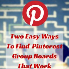 Participating in and hosting your own#Pinterest group boards is one of the fastest ways to increase your exposure. Here are two tools to find the best ones!