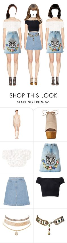 """{ Yuri } Sweet Love - Debut Stage @ MCountdown"" by vxxo ❤ liked on Polyvore featuring STELLA McCARTNEY, Steve Madden, Oh My Love, Gucci, M.i.h Jeans, Michael Kors, Charlotte Russe, Chanel, Isabel Marant and yuri"