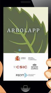 Arbolapp - Aplicación gratuita creada por el Real Jardín Botánico (CSIC). Con ella podrás identificar en el campo hasta 118 especies de árboles silvestres de la Península Ibérica y de las Islas Baleares. Cuenta con un sistema búsqueda guiada, basado en claves dicotómicas. Encontrarás abundantes fotografías y un glosario de términos botánicos.