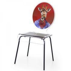 Une envie d'apporter une touche animale à votre intérieur. Cette chaise design fera votre bonheur et égaillera votre décor