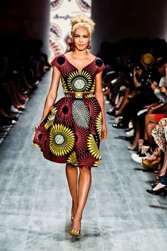 MAKEBA DRESS ~African fashion, Ankara, kitenge, African women dresses, African prints, African men's fashion, Nigerian style, Ghanaian fashion ~DKK