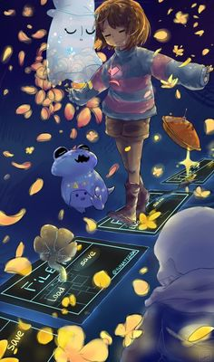 undertale frisk and sans wallpaper Anime Undertale, Undertale Drawings, Undertale Cute, Chara, Fan Art, Toby Fox, Underswap, Happy Chinese New Year, Anime Art