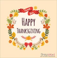 """""""🍂 Wishing you and yours a wonderful Thanksgiving! Seal Craft, Happy Thanksgiving Day, Simple Gifts, Free Paper, Custom Stickers, Are You Happy, Craft Supplies, Floral Wreath, Crafts"""