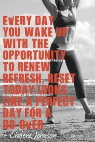 """Great Quotes About Fitness : Illustration Description Every day you wake up with the opportunity to renew, refresh, reset. Today looks like a perfect day for a do-over! – Chalene Johnson """"Sweat is fat crying"""" ! -Read More – Boss Babe, Tribe Sports, Chalene Johnson, Fitness Motivation Quotes, Workout Motivation, I Work Out, Thinspiration, Get In Shape, Beachbody"""
