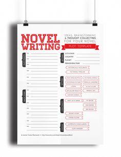 Novel Writing Templates V2.0 by asmallbirdorganizes on Etsy