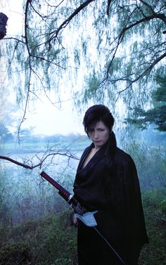 Gackt - Awesome as the samurai Yoshi in Bunraku