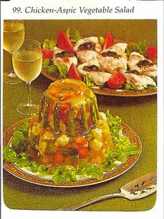 Chicken Jelly Salad