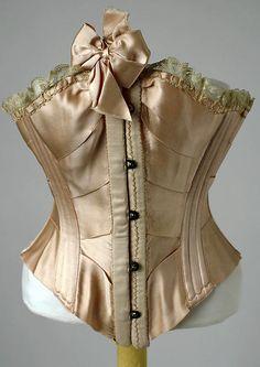 """The Rejane"" corset, American, 1900-1905"