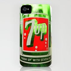 Classic 7 Up bottle iPhone Case Soda Brands, Mountain Dew, Computer Case, Ipad, Iphone Cases, Canning, Drinks, Bottle, Classic
