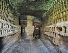 Blera (Viterbo) - Necropoli della Lega - colombario romano - Photo G. Garofoli (04-2011) - © All rights reserved - Tesori del Lazio