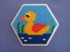 Duck hama perler