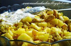 Anula w kuchni: Sałatka z ananasem i kurczakiem