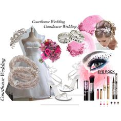 Pretty in pink, created by mimi-gan on Polyvore