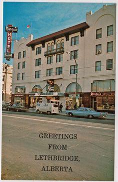 '60s View Marquis Hotel Coffee Shop Lethbridge AB Alberta   eBay