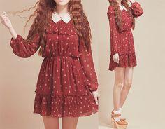 (≧∇≦)/ casual, cute outfit, Cute Korean Fashion, korea, Korean, seoul, kfashion, kpop fashion, girl's wear, ladies' wear, pretty, kawaii