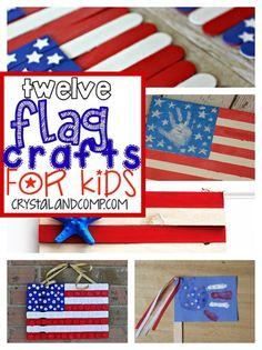 12 flag crafts for kids
