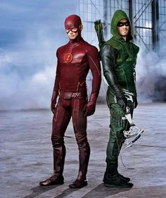 Arrow and The Flash. I don't watch either show on the CW. :)