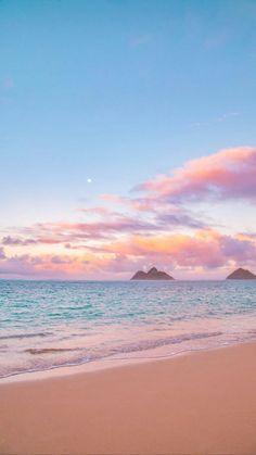 beach aesthetic pastel sky pink sea paradise sunset pretty colorful sweet florida study rich kaynak uploaded mystery