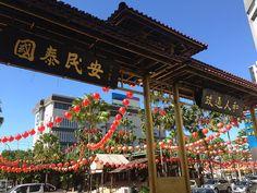 Chinatown & chinesisches Neujahr in Kota Kinabalu, Borneo