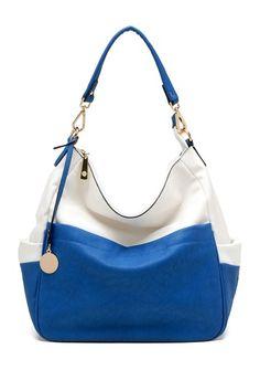Colorblock Pocket Satchel by Tosca Handbags on @HauteLook