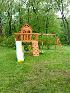 Leisure Time Cedar View Playset From BJu0027s Wholesale Installed In  Doylestown, ...