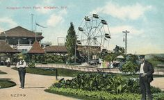 """Relive the history of Kingston as depicted on vintage postcards in """"Greetings From Kingston:A Story in Postcards""""at the Historic Kingston Gallery at the corner of Wall and Main streets in the Stockade District."""