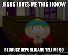 Cartman the Republican.