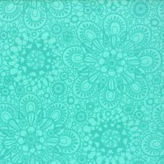 Honey Honey - Lace - Aqua - yd by Kate Spain Floral Fabric, Floral Lace, Honey Lace, Cyan, Teal And Grey, Fabulous Fabrics, Textile Patterns, Pattern Wallpaper, Aqua