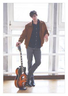 Kustan Adam, photo: Cservolgyi Zsofia guitar photo poster design