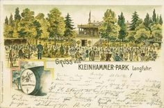 Park w Kuźniczkach / Kuzniczki Park Vintage World Maps, Park, Image, History, Parks