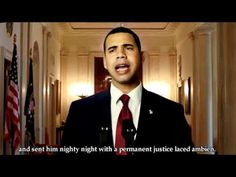 Still one of my favorites and the truth about how to get a 2nd term!  Obama's alternate speech on Bin Laden's death.