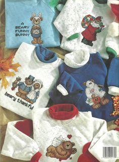 Beary Happy Holidays  Cross Stitch Pattern by BeachinBoutique