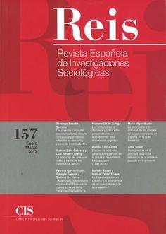 REVISTA ESPAÑOLA INVESTIGACIONES SOCIOLÓGICAS