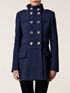 Alexia Coat - Ice Iceberg - Blue - Jackets And Coats - Clothing - Women -