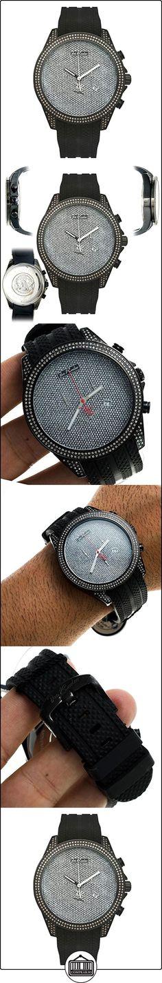 Joe Rodeo Diamond el reloj de los hombres - el precio de la plata 2,25 ctw  ✿ Relojes para hombre - (Lujo) ✿