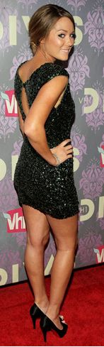 NYE... Celeb Lauren Conrad rocking the red carpet. Are you practicing your pose??