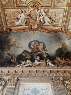 Darling, be daring - Louvre Architecture Baroque, Beautiful Architecture, Angel Aesthetic, Aesthetic Art, Rococo, Renaissance Kunst, Arte Fashion, Louvre, Classical Antiquity