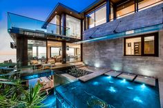 Modern homes with impressive architectural thought and made to stun.