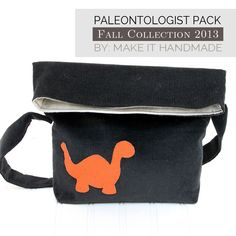 sew: Paleontologist Pack Tutorial || Make it Handmade for The Sewing Rabbit