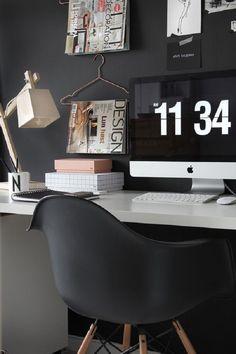 20 Best Ideas Home Office Decor – Best Home Ideas and Inspiration – Chic Home Office Design Home Office Design, Modern House Design, Office Designs, Home Design, Office Style, Design Design, Creative Design, Office Workspace, Office Decor