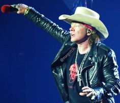 Axl Rose of Guns N' Roses, 2016 #axlrose #rockicon #rockstar #gnr #GunsnRosesReunion #NotInThisLifetimeTour
