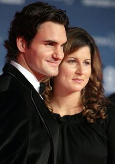 """""""I can't believe I was just in my 100th final, and it's already my 70th title.' That's what I told her. I got together with her when I had zero titles, and we kind of went through all this together, and now we have a family. It's been pretty incredible.""""       -Roger talking about Mirka"""
