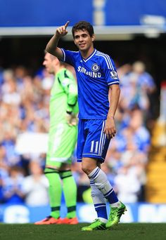 Oscar. Chelsea 2-0 Hull City. Premier League. Sunday, August 18, 2013.