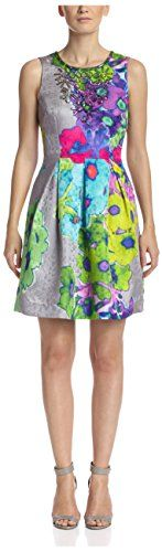 Trina Turk Women's Peggy Dress, Multi, 10 -- Learn more by visiting the image link.