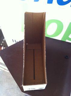 Magazine holder from Milk carton 2