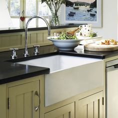 "Randolph Morris 30"" Fireclay Farmhouse Sink - White"