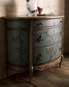beautiful painted dresser