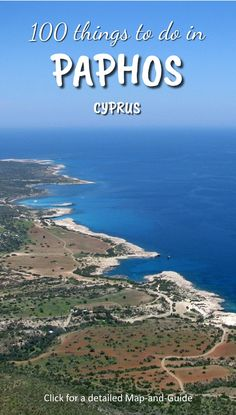 Greek Islands Beauty Detailed Map-Guide to Paphos, Cyprus Greek Island Holidays, Cyprus Holiday, Visit Cyprus, 100 Things To Do, Greece Holiday, Paphos, Archaeological Site, Greek Islands, Me On A Map